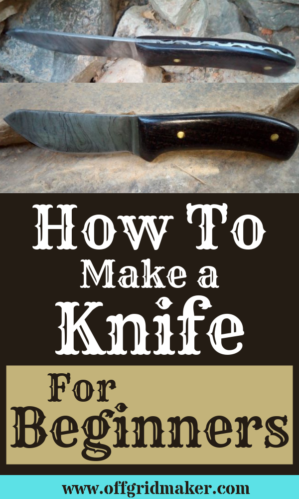How to make a knife thumbnail
